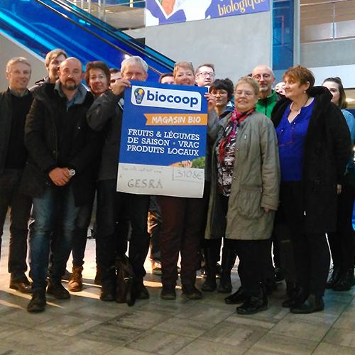 Solidarit affirm e et forte mobilisation pour la collecte - Magasin bio arras ...