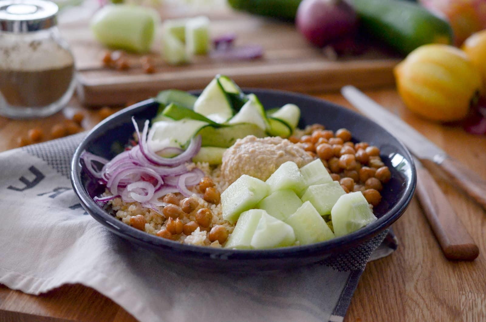 Buddha Bowl aux pois chiches